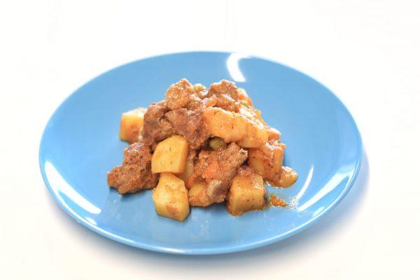 Prato Carne - Borrego com Legumes e Maçã