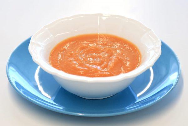 Sopa Carne - Sopa de Cenoura e Lentilhas com Vitela