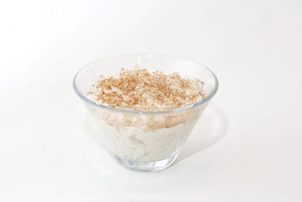 arroz doce comida para bebé gourmet