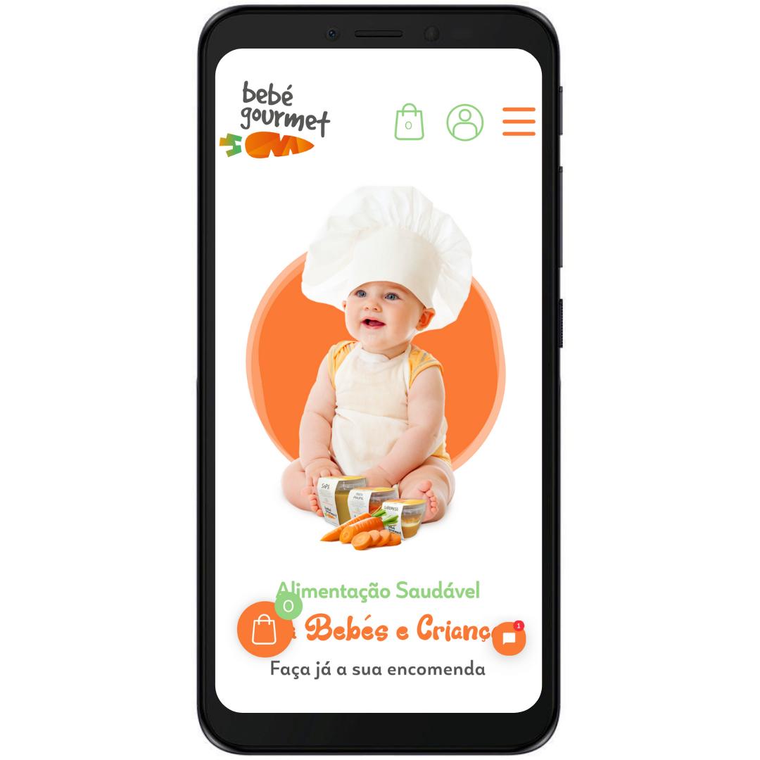 Loja online Bebé Gourmet