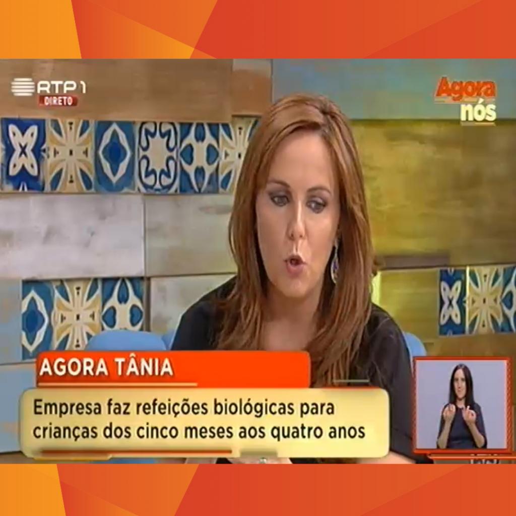 Bebé Gourmet na RTP com Tânia Ribas de Oliveira