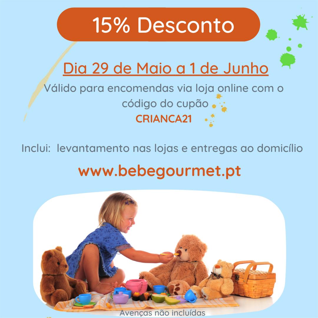Dia da Criança Bebé Gourmet